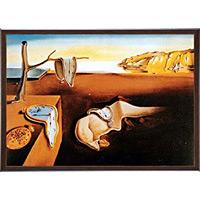 アートポスター 「記憶の特続性」 ダリ作 (G-131)