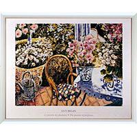 アートポスター 「花の香り? (L)」 ガイ・ビギン作