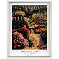 アートポスター 「花のシンフォニー?」 ガイ・ビギン作