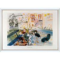 アートポスター 「モントソーネの家」 R・デュフィ作