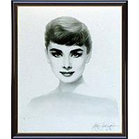 アートポスター 「ヘップバーン、1955」 G・サデラップ作