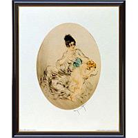 アートポスター 「クリップド キューピッズ ウイングス」 L・イカール作