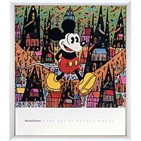 アートポスター 「オブ ミッキーマウス (フィンスター)」 ディズニーシリーズ作