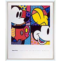 アートポスター 「オブ ミッキーマウス (ブリット)」 ディズニーシリーズ作