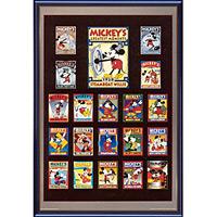 アートポスター 「ミッキーズ グレーテスト モーメンツ」 ディズニーシリーズ作