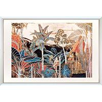 アートポスター 「流砂の河」 ティン作