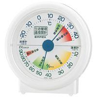 生活管理温度計・湿度計 置き用 (TM-2401)