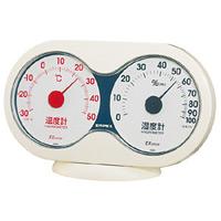 アキュート温度計・湿度計 ホワイト