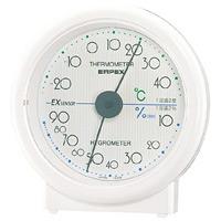 セレステ温度計・湿度計 ホワイト