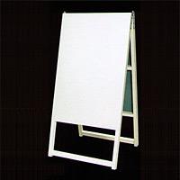 木枠付白トタンA型看板 600×1200+足300 A-24