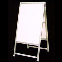 アルミ製額縁A型看板 600×900+足300 CN-11