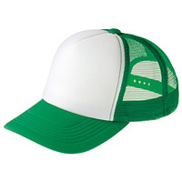 イベントメッシュキャップ (12572) グリーン・ホワイト