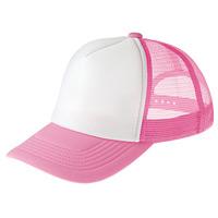 イベントメッシュキャップ (12578) ピンク・ホワイト