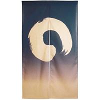 エステル麻のれん (3518) 白円