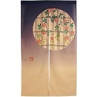 エステル麻のれん (3525) 枝垂れ桜