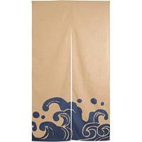 エステル麻のれん (3547) 波