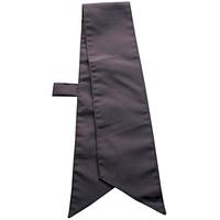 ループ付スカーフ (8668) ブラック