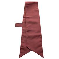 ループ付スカーフ (8670) チョコレート