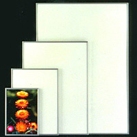4辺開閉式ポスターフレーム ラクパネ A4 ホワイト
