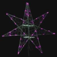 LEDセパレーツギャラクシー 大 ピンク 2枚羽