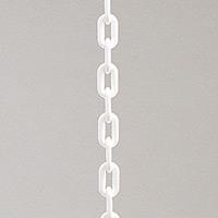 プラチェーン 長さ1.2メートル ホワイト  (22300WHT)