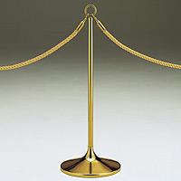 ロープパーティション UP43-20 ゴールド