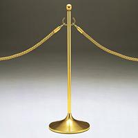 ロープパーティション UP230-20 ゴールド