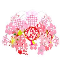 桜満開ぼんぼりドロップ