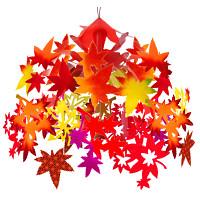 秋を彩る紅葉ドロップ (No.163-2205)