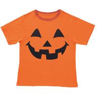 パンプキンオレンジTシャツ L