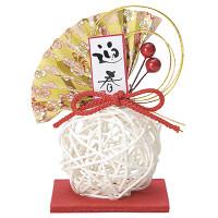 寿ラタン飾り(白)