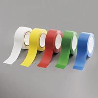 ローコスト屋内床貼テープ (セパ無) 50mm幅×33m巻 カラー:白 (863-381A)