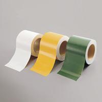 布テープ (簡易ラインテープ) (セパ無) 100mm幅×25m巻 カラー:白 (864-71)