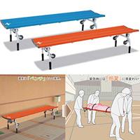 レスキューボードベンチ (脚部折畳式) レスキューオレンジ