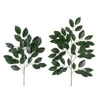 ご仏壇お供花 榊 大2本 中2本セット (造花) 高さ65cm 光触媒 (98A30)