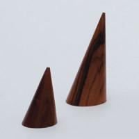 木製円錐リング 紫檀 S
