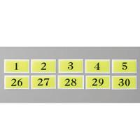 テーブルナンバー 和風タイプ BJ26 蛍光 No.1