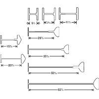 バノックピン U-Pin Ux-7mm