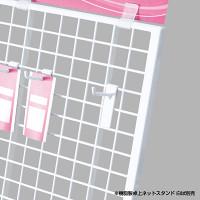 樹脂製卓上用フック L40白(10本入)