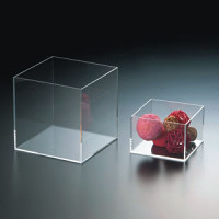 アクリル五面体BOX W160xH160 AD-100