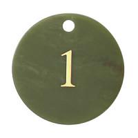 クローク札 CP-61 (札のみ) グリーン 1~10