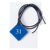 クローク札(紐付) CP-1-(1~99) ホワイト