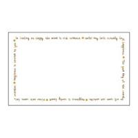 16-1730 エコカード 英字枠 無字 (5個セット)