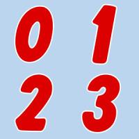 アドインレター シール 22-549【9】H55・4片×8シート