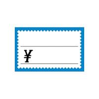 17-5172 ショーカード 小 ブルー枠