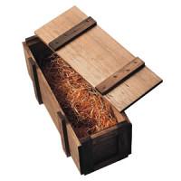シャンパン専用木箱 NR型 ライトオーク(茶)