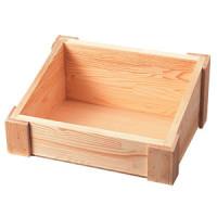 木製ディスプレイボックス ブラック