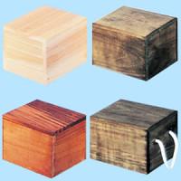 白木BOX DR型 ライトオーク(茶)