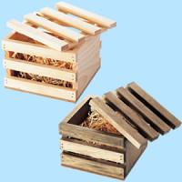 白木BOX IR型 ライトオーク(茶)