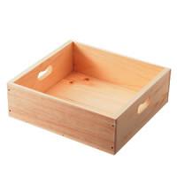 トレータイプ木箱 W370 ブラウン
